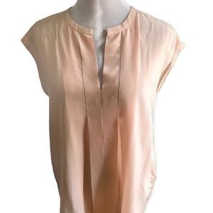 NWT Lucky Brand Sleeveless Top In Blush Pink Sz S